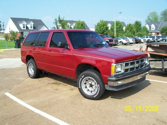 greerboy 1993 chevrolet s10 blazer specs photos modification info at cardomain. Black Bedroom Furniture Sets. Home Design Ideas