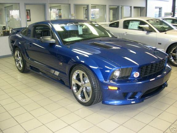 Ford Mustang Saleen Specs