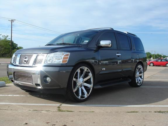 lowinc customs 2005 nissan pathfinder armada specs photos modification info at cardomain. Black Bedroom Furniture Sets. Home Design Ideas