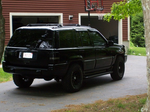 allblackjeep 1997 jeep grand cherokee specs photos modification info at cardomain. Black Bedroom Furniture Sets. Home Design Ideas
