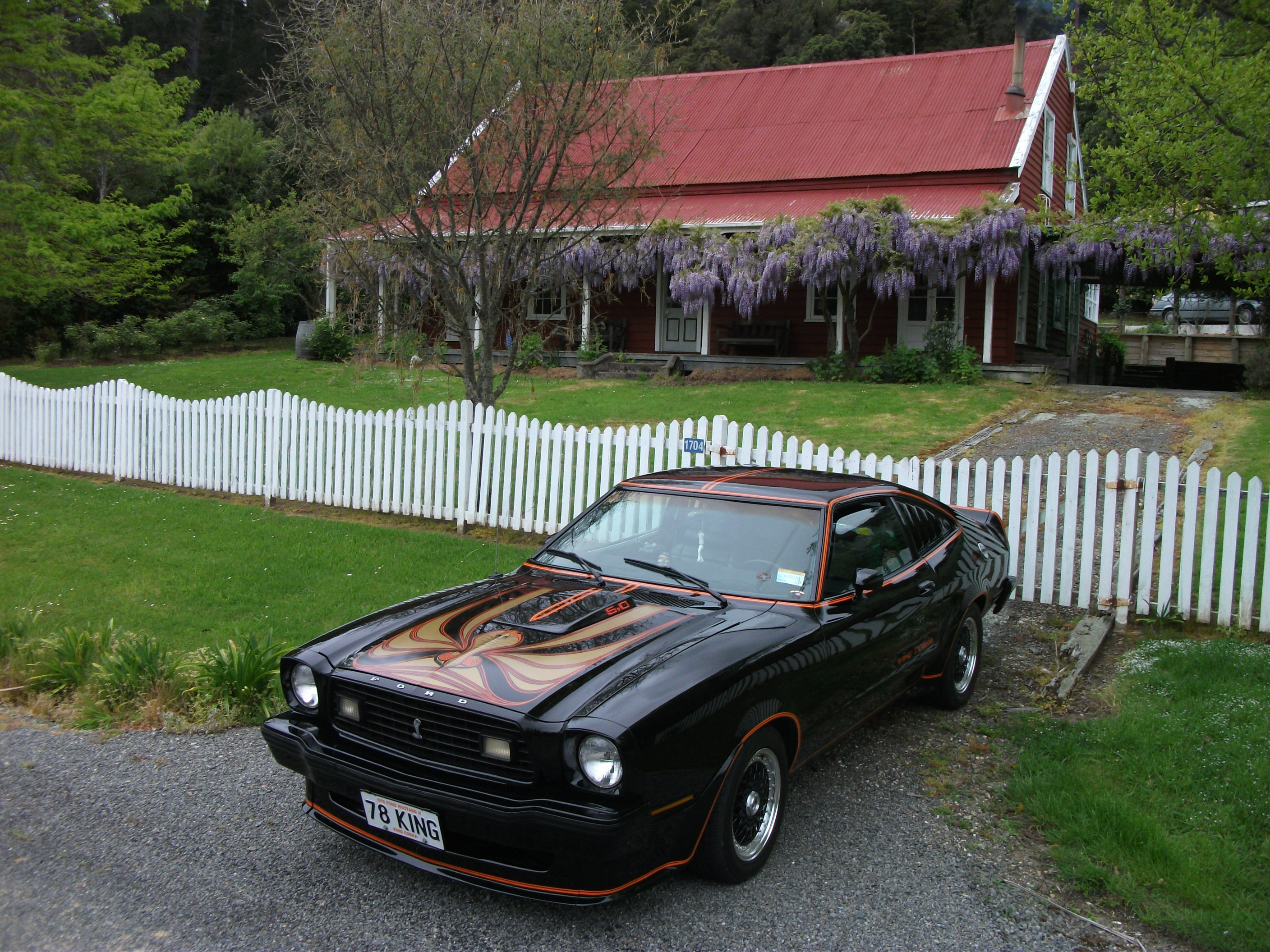 74MKII 1974 Ford Mustang II 15362920