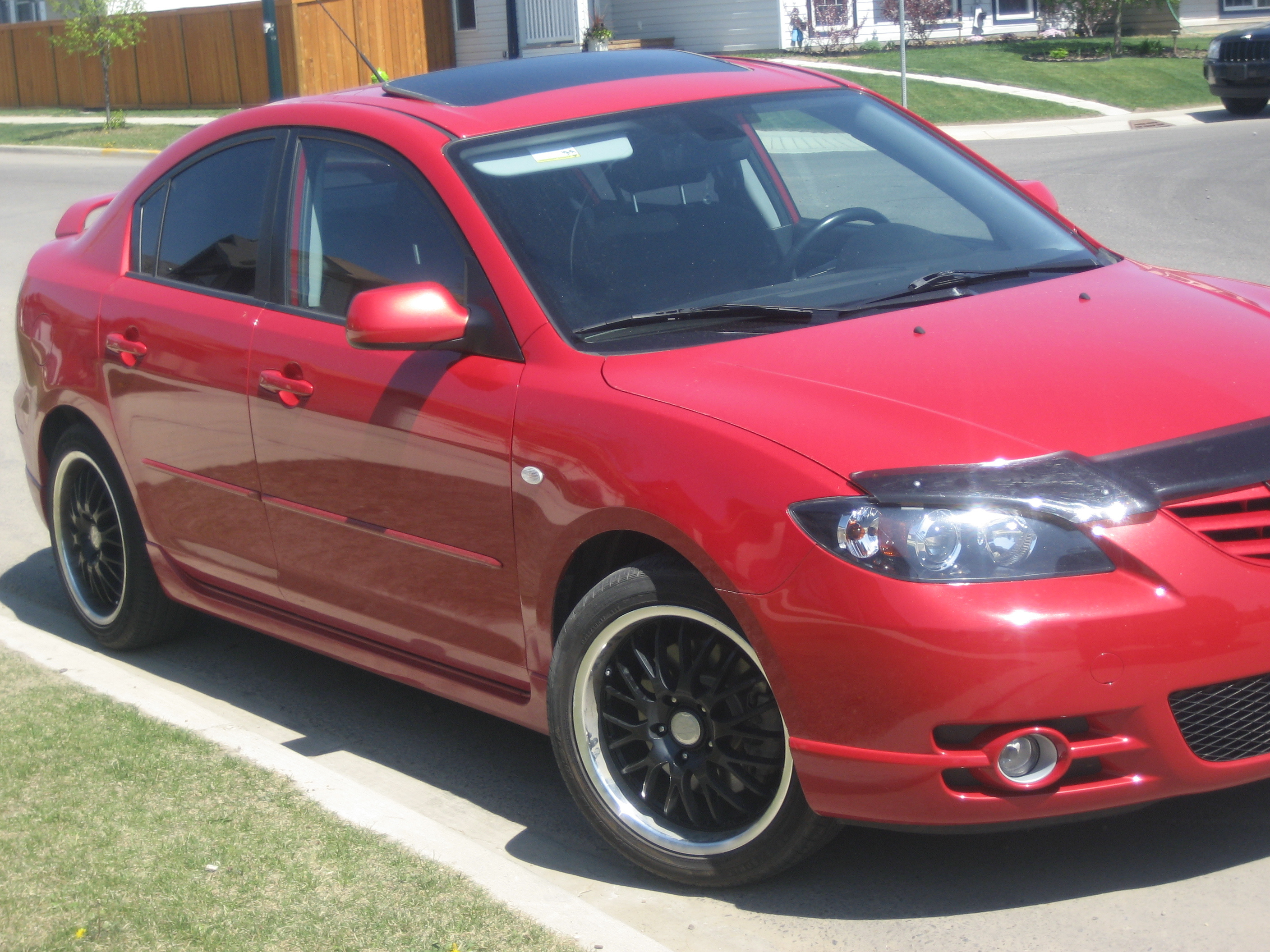 Httpsjamesrobison Usmazdaspeed 3 Wheel Size: Jaxblack 2006 Mazda MAZDA3 Specs, Photos, Modification