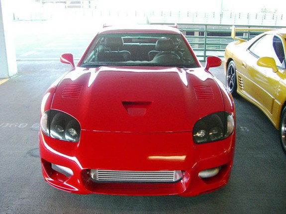 Large on 3000gt Rear End