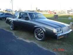 GUNMETAL-REGALs 1985 Buick Regal