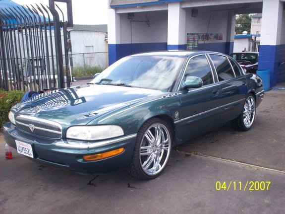 slowloudbanginxx 1998 buick park avenue specs photos. Black Bedroom Furniture Sets. Home Design Ideas