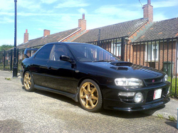 willohs 1995 Subaru Impreza