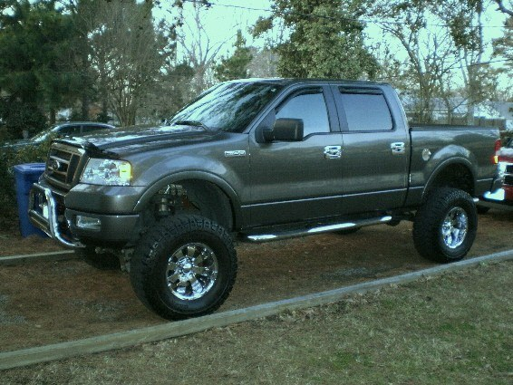 GasPoor 2005 Ford F150 SuperCrew CabFX4 Styleside Pickup ...
