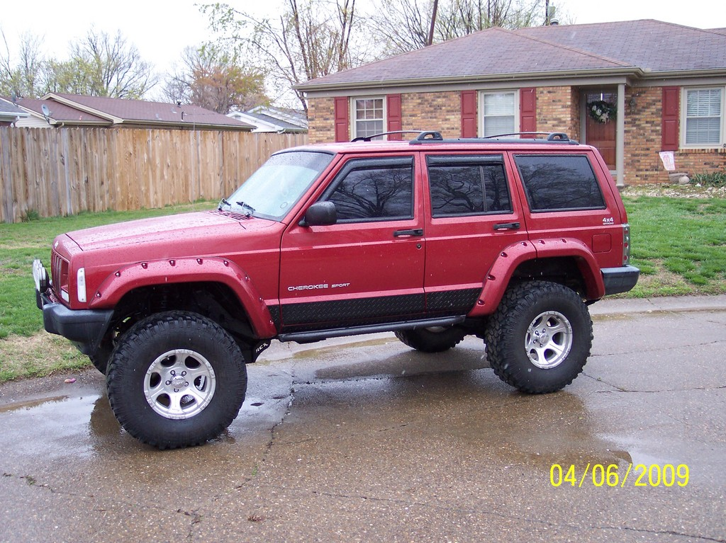 bushwacker xj cherokee fender - photo #21
