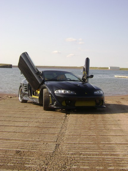 Another widebody-Flaked 1996 Mitsubishi Eclipse post... - 10251155