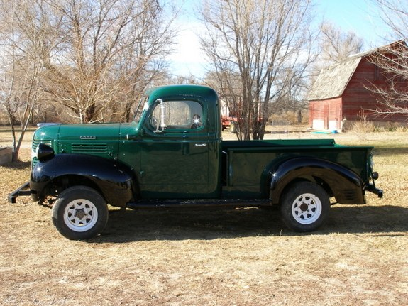 Another winddancer 1946 Dodge W-Series Pickup post    Photo 9153287