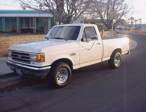 1991 ford f150 weight