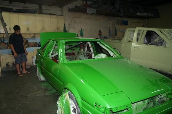 Another blu-thunder 1987 Toyota Corolla post... - 9898917
