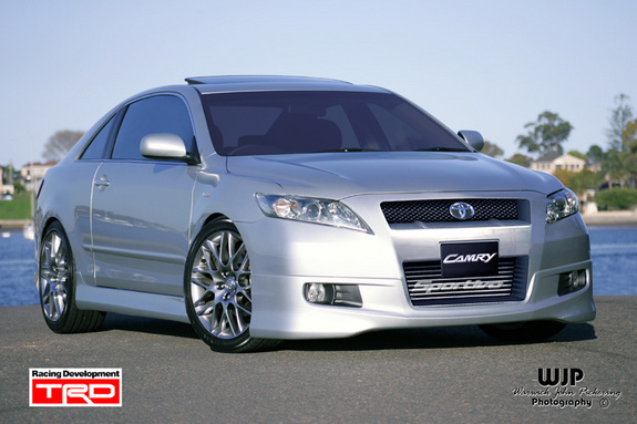 Toyota Camry 2008 Body Kit 2444 on lanos ground effects