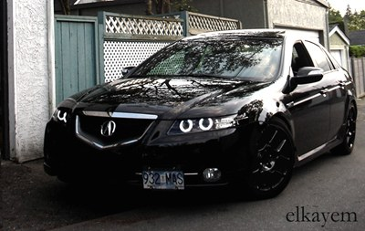New Head Lights For TL TypeS AcuraZine Acura Enthusiast - Acura tl aftermarket headlights