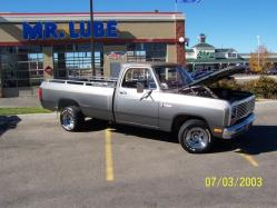 1984dodge 1984 Dodge D150 Regular Cab
