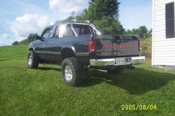 Black93Dak 1993 Dodge Dakota Regular Cab & Chassis