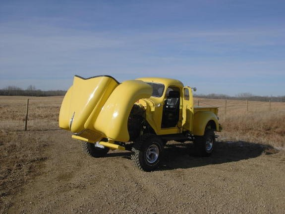 Another Turbo_Rampage 1947 International Scout post... - 9158128