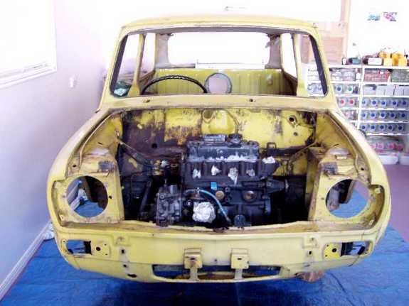 Another ZAC07 1974 MINI Clubman post... - 9928303