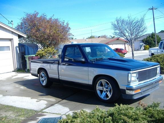 S-10_Fiend 1984 Chevrolet S10 Regular Cab