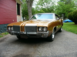 sincenews 1972 Oldsmobile Cutlass Supreme