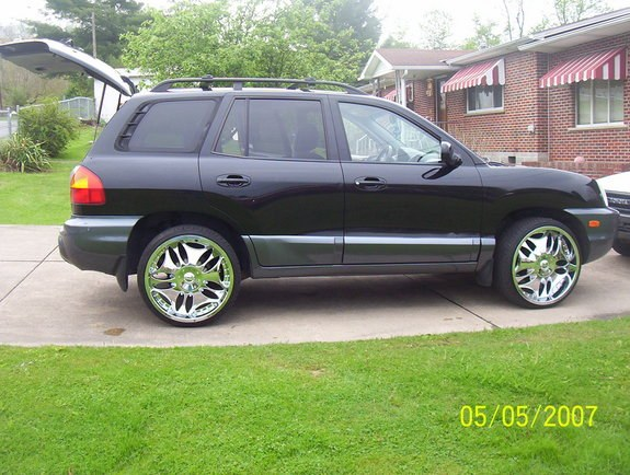 sassy22s 2004 hyundai santa fe specs photos modification. Black Bedroom Furniture Sets. Home Design Ideas