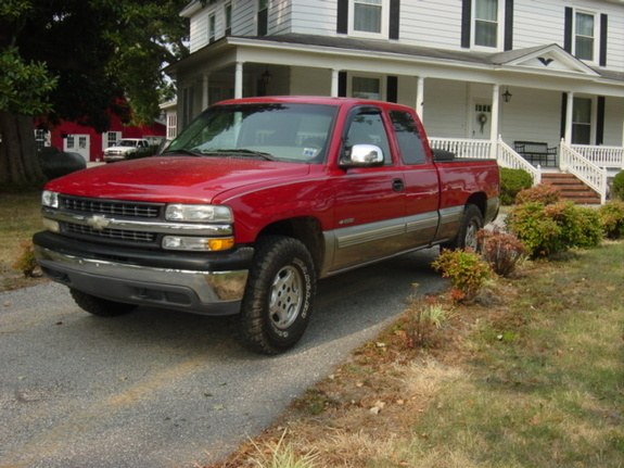 whiteboy2354 39 s 2001 chevrolet silverado 1500 extended cab short bed in clayton nc. Black Bedroom Furniture Sets. Home Design Ideas