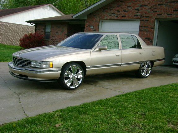 Cadillac DeVille On 20 Inch Rims