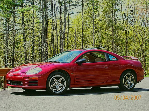 thursday309 39 s 2000 mitsubishi eclipse in milford pa. Black Bedroom Furniture Sets. Home Design Ideas