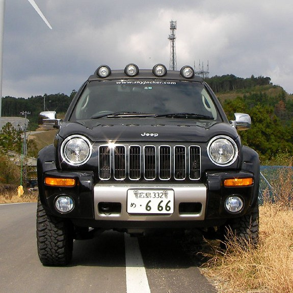 Microman Japan 2007 Jeep Liberty Specs Photos