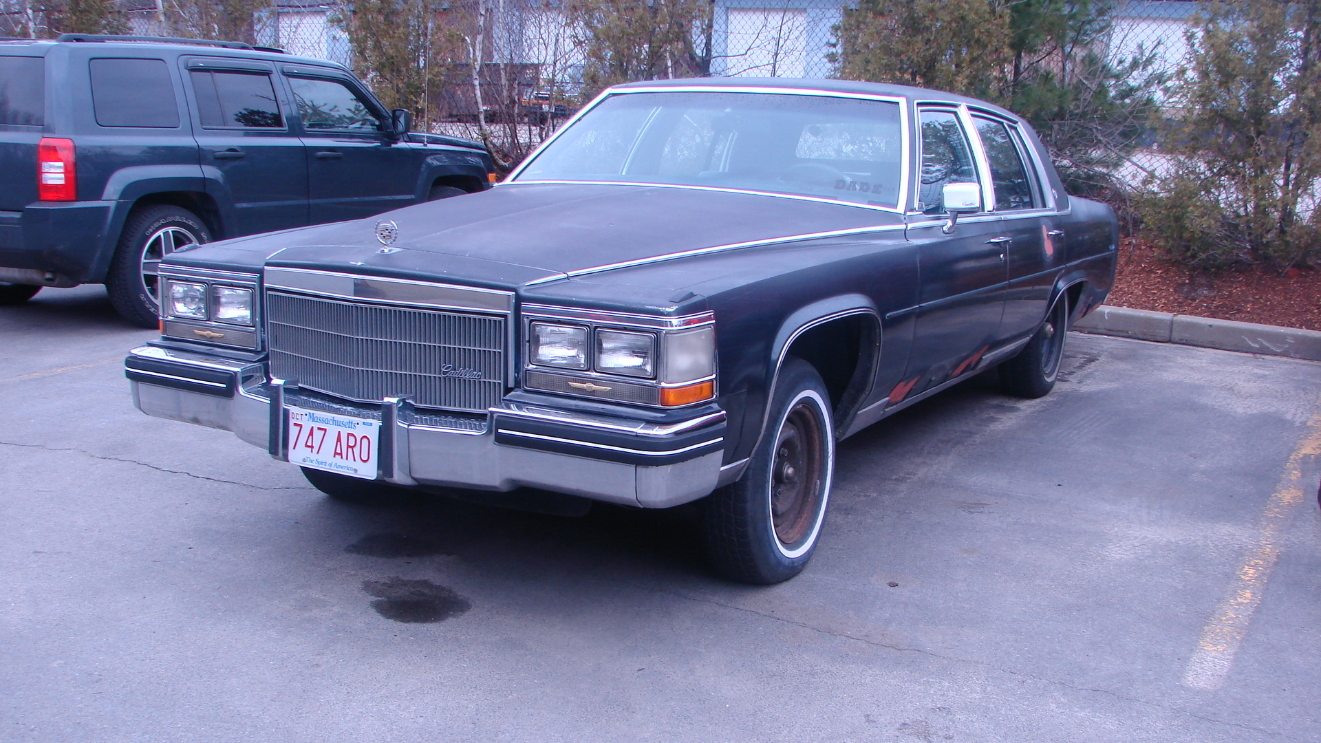 Donk_King 1985 Cadillac Fleetwood 9165972