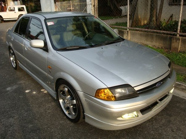 keen20five 2000 Ford Laser
