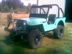 1948jeepwillys 1948 Jeep CJ2A