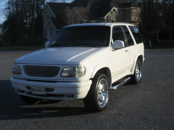 Amptiger 1997 Ford Explorer Sport Specs Photos