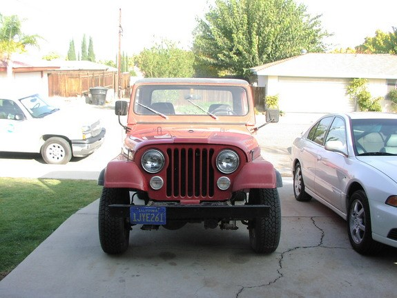 cj8scrambled 1984 Jeep CJ8 Scrambler 10033572