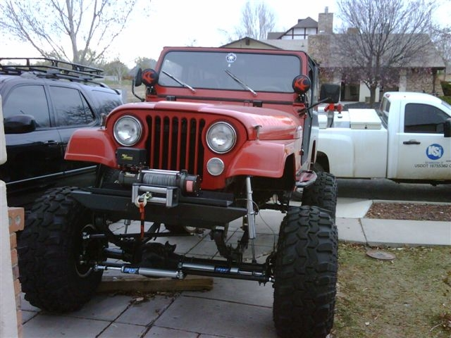 cj8scrambled 1984 Jeep CJ8 Scrambler 10033579