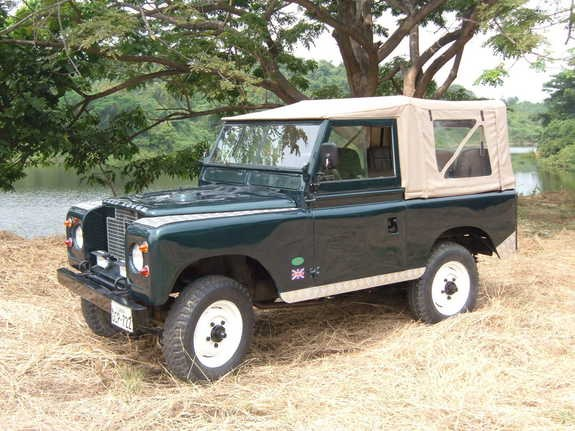 Restored 1960 Land Rover Series II | Bring a Trailer