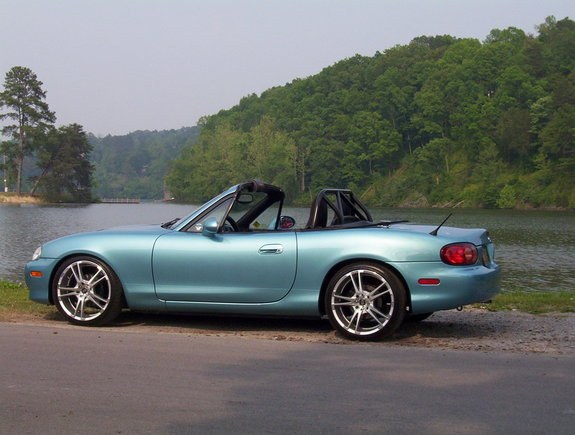 curvkiller 2002 Mazda Miata MX-5 Specs, Photos, Modification