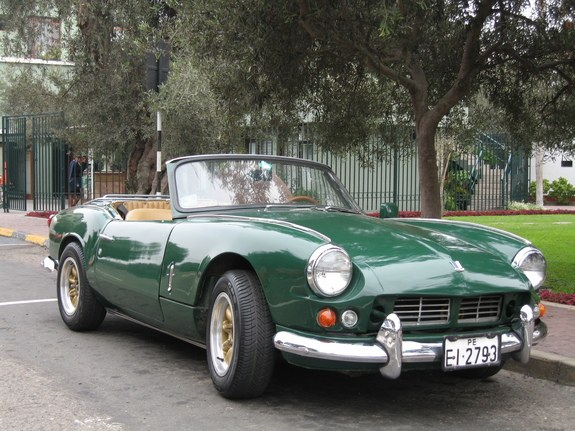 hoggsta 1965 triumph spitfire specs photos modification