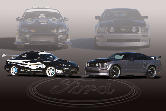 KiddZX2 2006 Ford Mustang 10051036