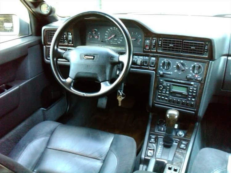 Interior Before Transmission Swap: Awasss 1995 Volvo 850