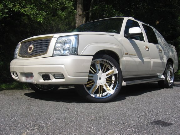 badmister 39 s 2003 cadillac escalade ext sport utility pickup 4d 5 1 4 ft in central ma. Black Bedroom Furniture Sets. Home Design Ideas