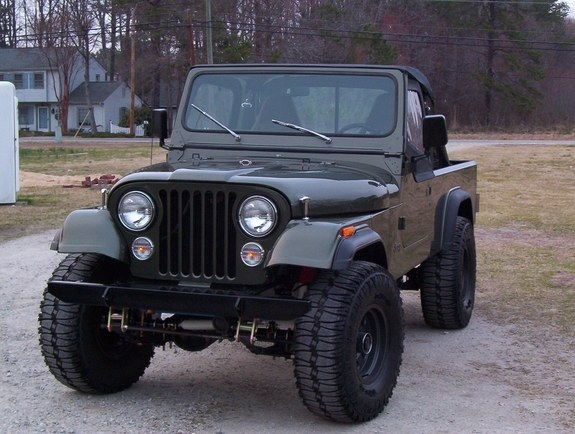 Another Elldee 1983 Jeep CJ8 Scrambler post... - 9172507