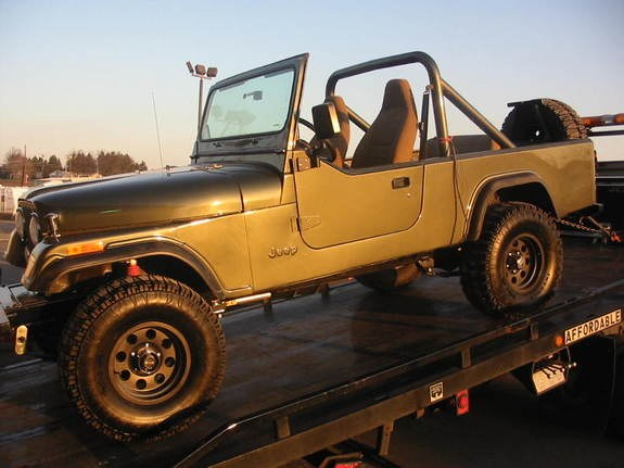1983 Jeep CJ8 Scrambler