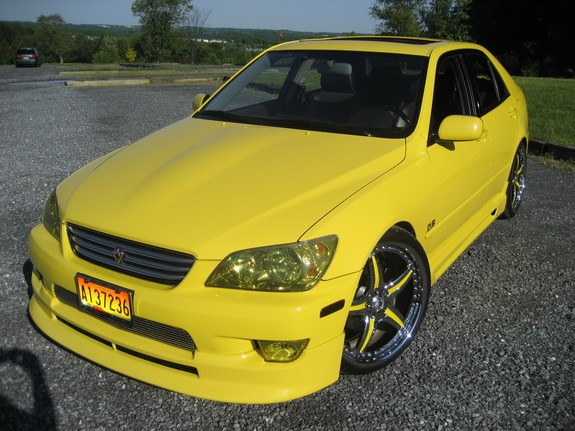 Wheel-N's 2002 Lexus IS