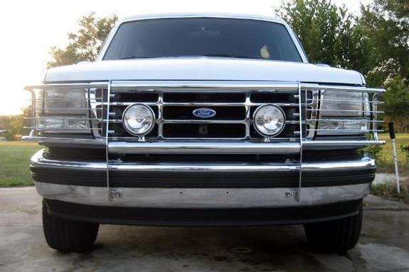 Ford Grill Guard For 85 : Ford f grill guard