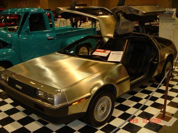 Browser90's 1983 DeLorean DMC-12