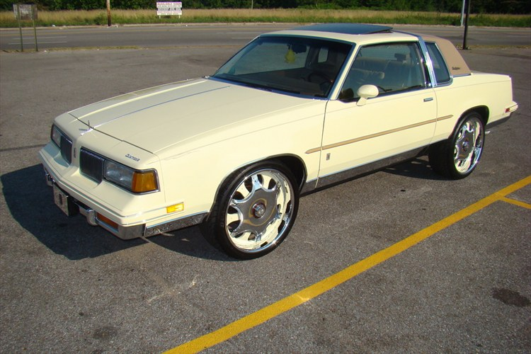 CUTLASSONDAVINS 1987 Oldsmobile Cutlass Supreme 10096440