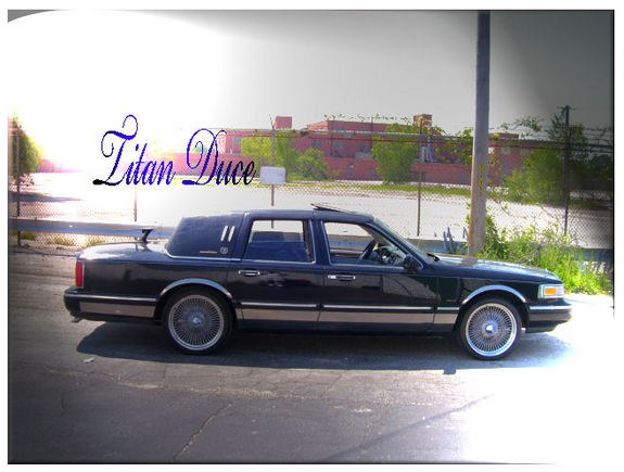 Titanduce 1996 Lincoln Town Car Specs Photos Modification Info At