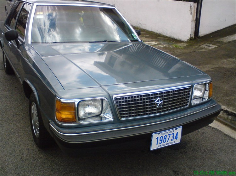 1986 plymouth reliant k