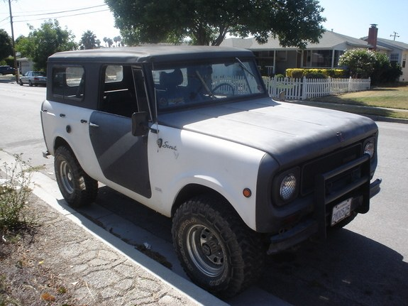 bigwhiteblazer's 1970 International Scout